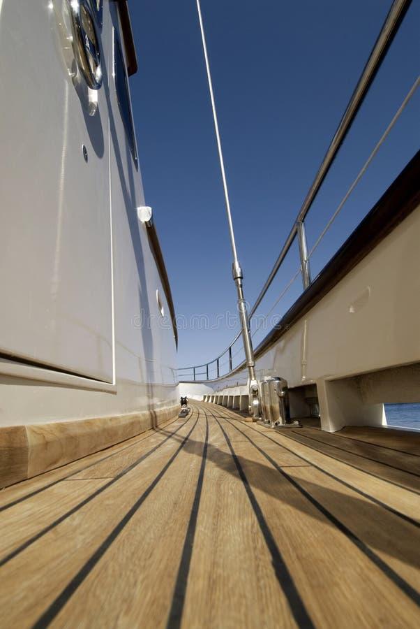 Piattaforma di barca fotografia stock libera da diritti