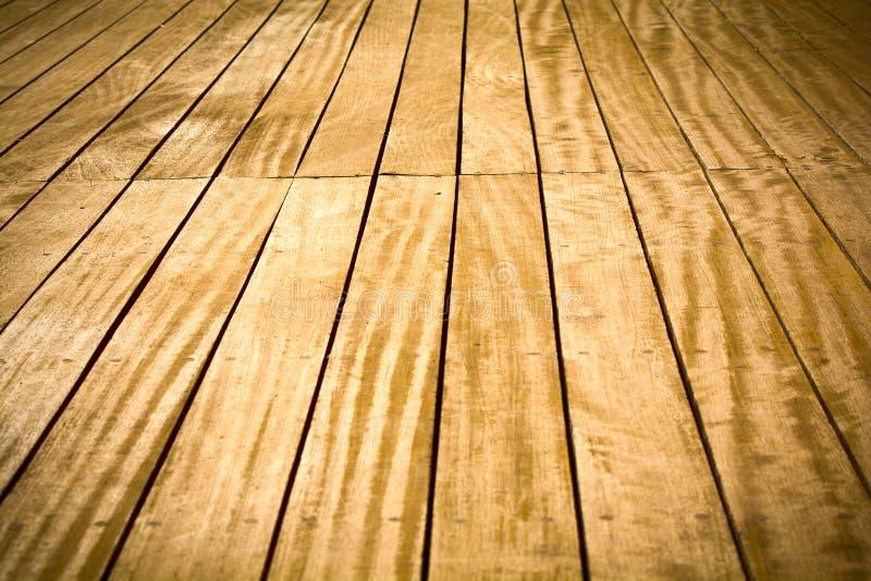 Piattaforma di legno immagine stock