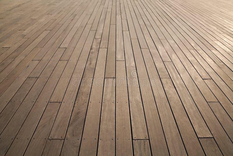 Piattaforma di legno fotografia stock