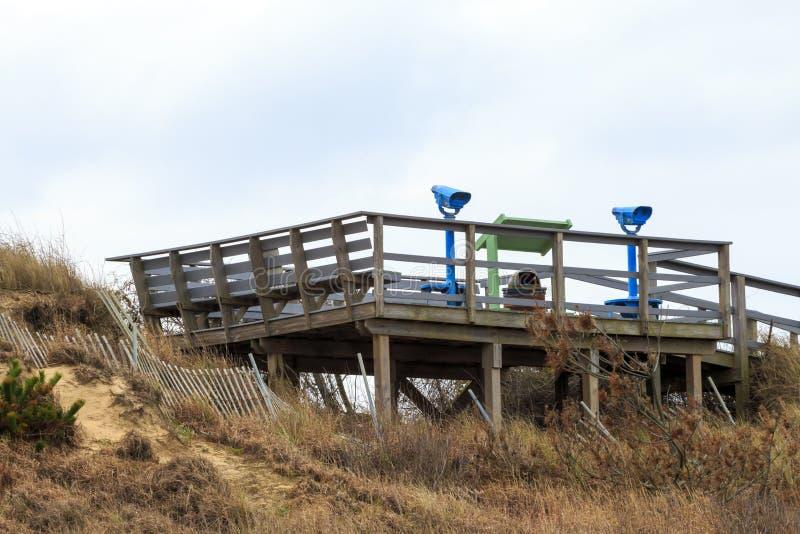 Piattaforma di legno fotografie stock libere da diritti