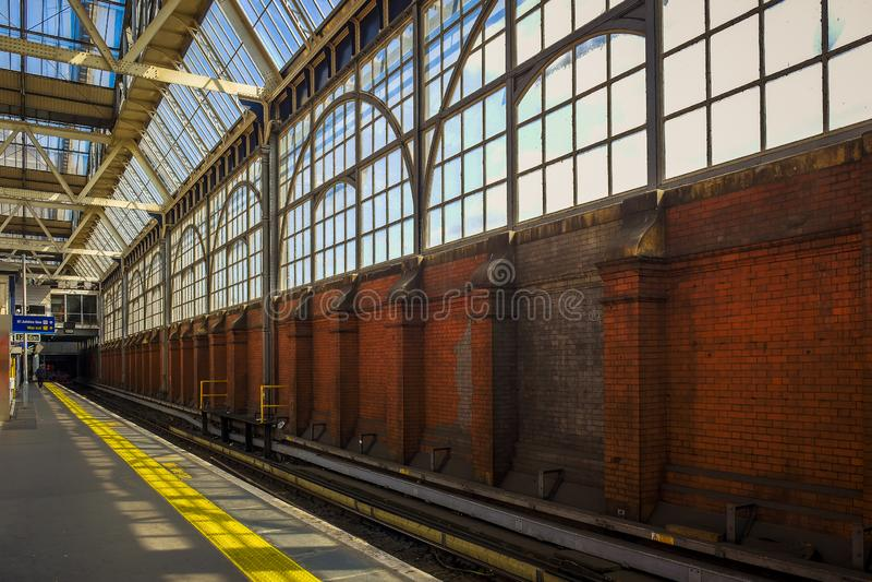 Piattaforma di Waterloo fotografie stock
