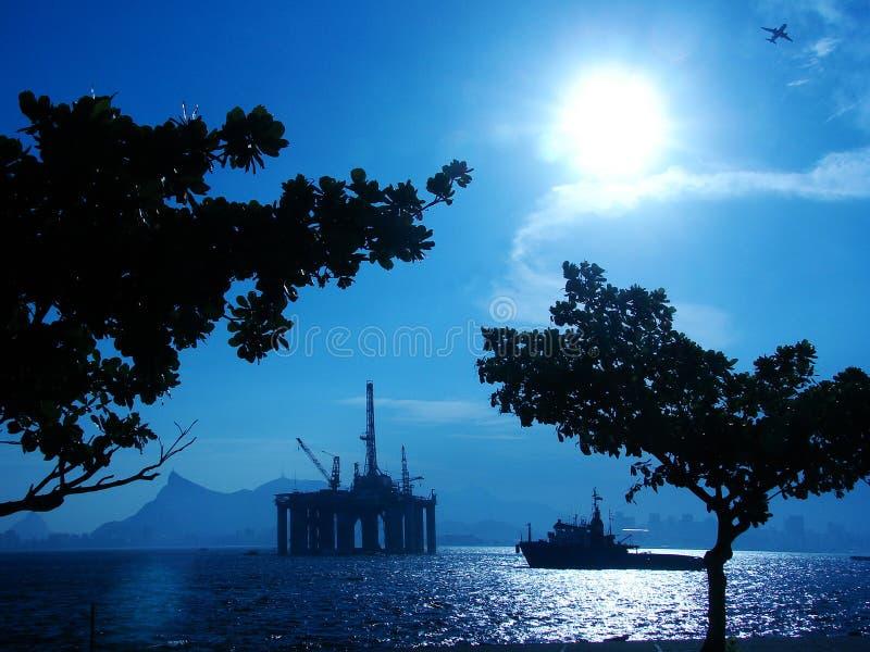 Piattaforma petrolifera 26 fotografia stock libera da diritti