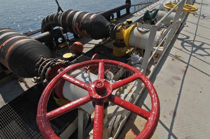 Piattaforme di perforazione del gas e del petrolio fotografia stock