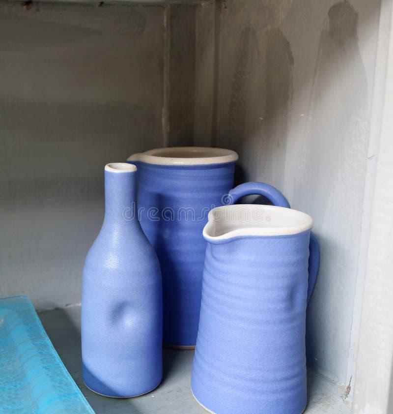 Piatti di ceramica fotografia stock