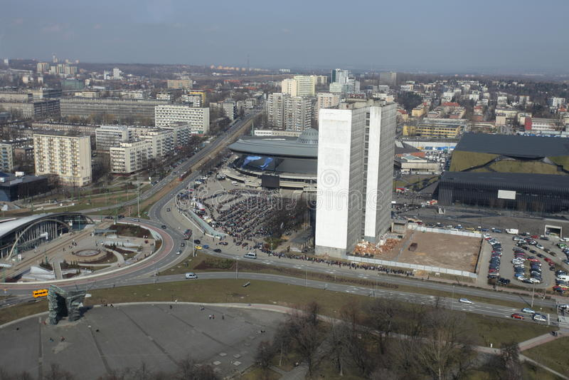 Piattino di Katowice immagine stock libera da diritti