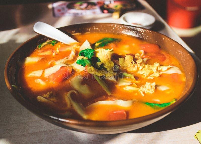Piatto cinese tipico di Nanchino immagini stock libere da diritti