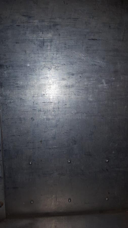 Piatto d'acciaio immagini stock