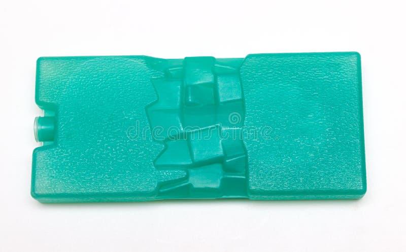 Piatto del ghiaccio per la borsa più fresca immagini stock