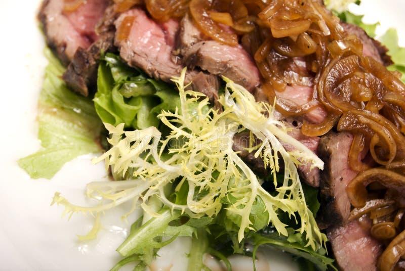Piatto della carne fotografia stock libera da diritti