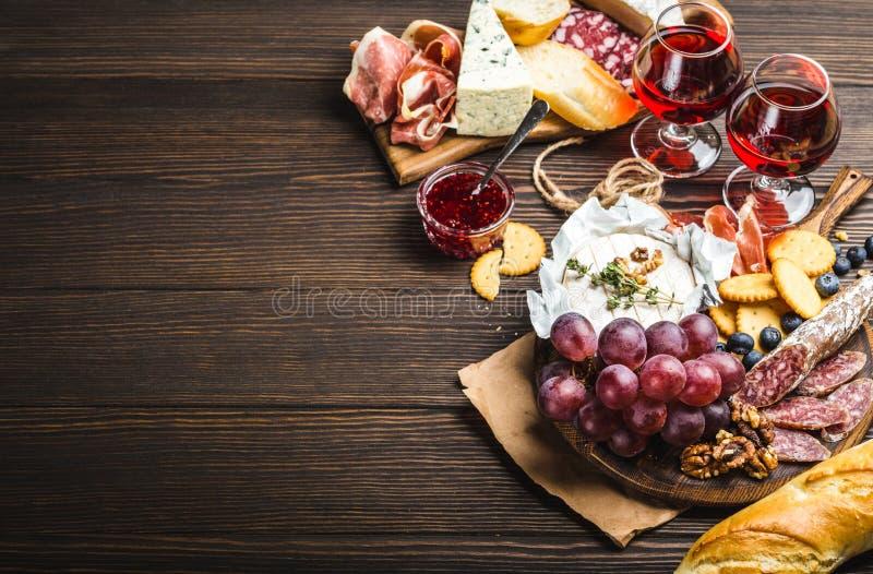 Piatto delle specialità gastronomiche immagine stock