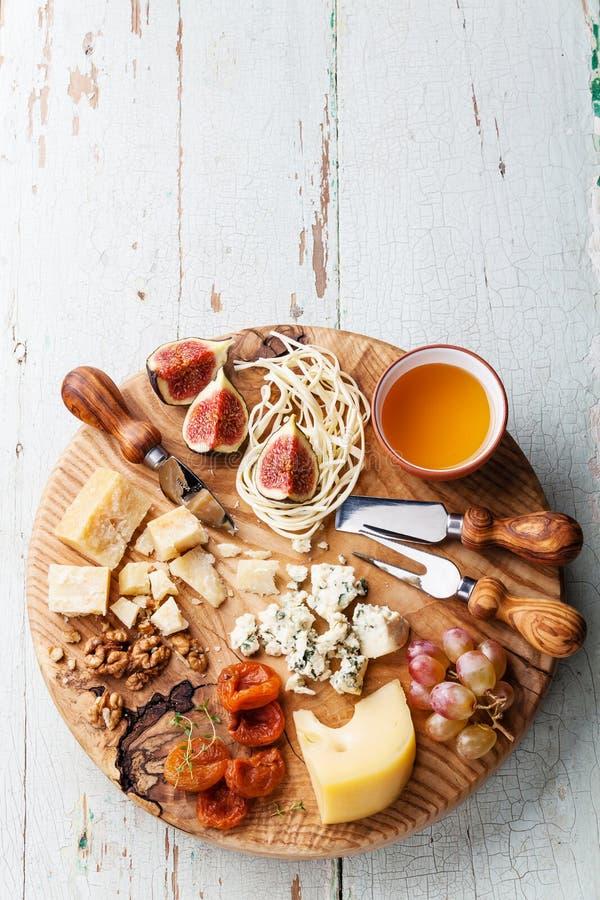 Piatto di formaggio fotografia stock