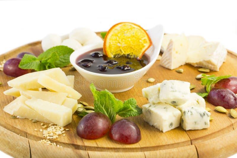Piatto di formaggio immagini stock libere da diritti
