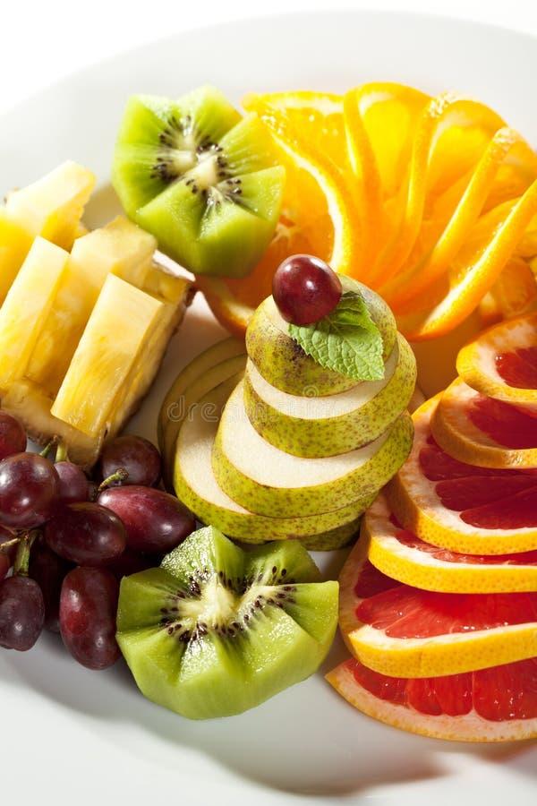 Piatto di frutti immagine stock libera da diritti