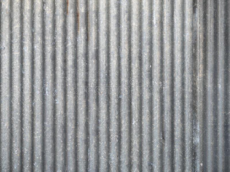 Piatto di tetto d'acciaio galvanizzato fotografia stock