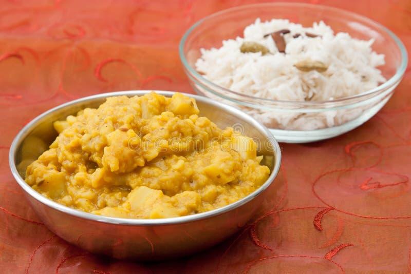 Piatto indiano del dal immagini stock libere da diritti