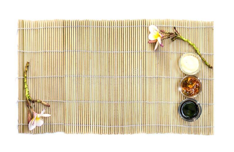 Piatto vuoto dell'alimento giapponese immagine stock