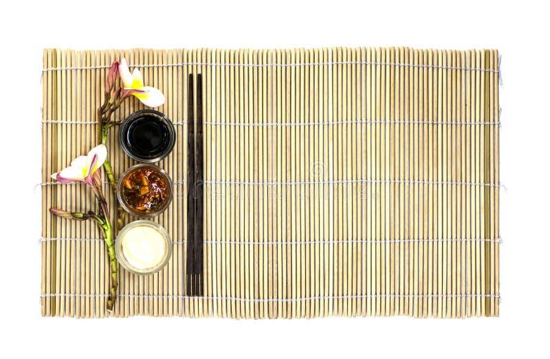 Piatto vuoto dell'alimento giapponese immagini stock