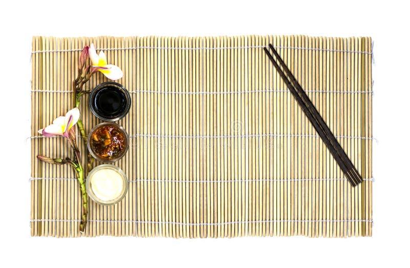 Piatto vuoto dell'alimento giapponese immagini stock libere da diritti
