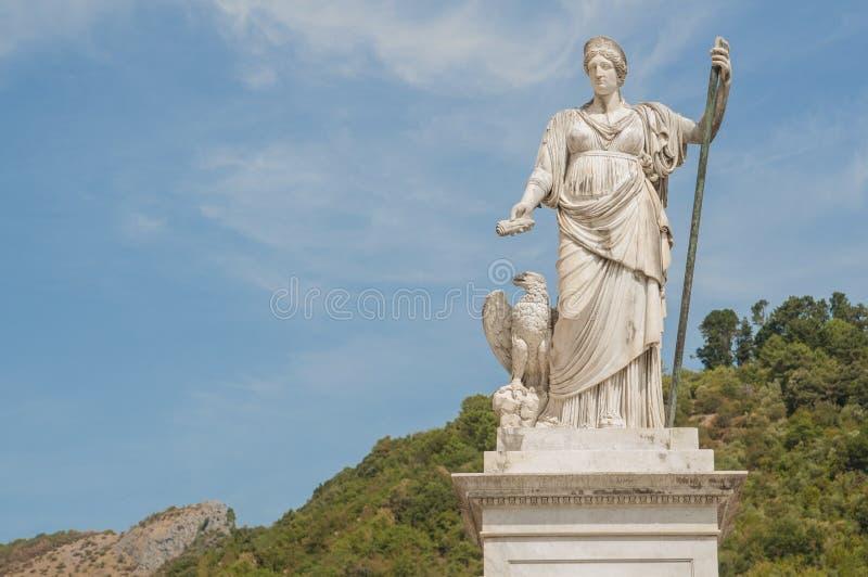 Piazza Alberica, Toscana, Carrara immagine stock libera da diritti