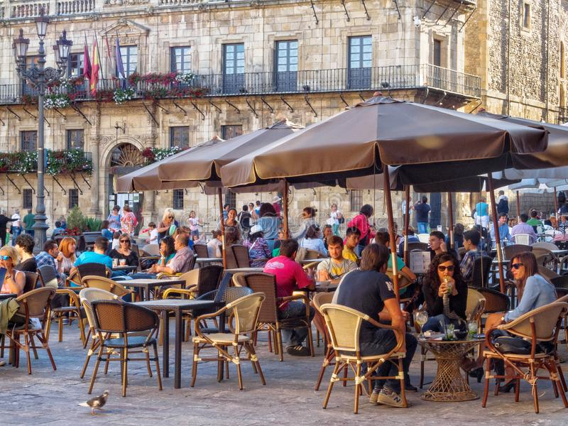 Piazza-Bürgermeister - Leon lizenzfreies stockbild
