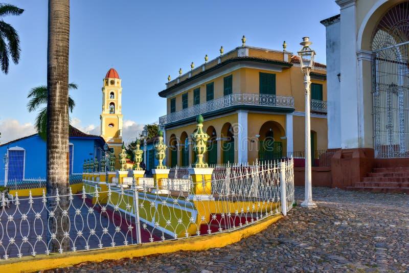 Piazza-Bürgermeister - Trinidad, Kuba lizenzfreie stockfotos