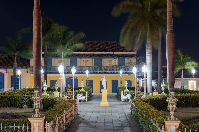 Piazza-Bürgermeister - Trinidad, Kuba lizenzfreie stockfotografie