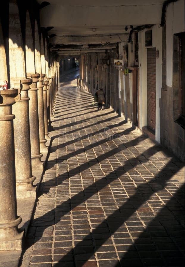 Piazza, Cuzco fotografia stock libera da diritti