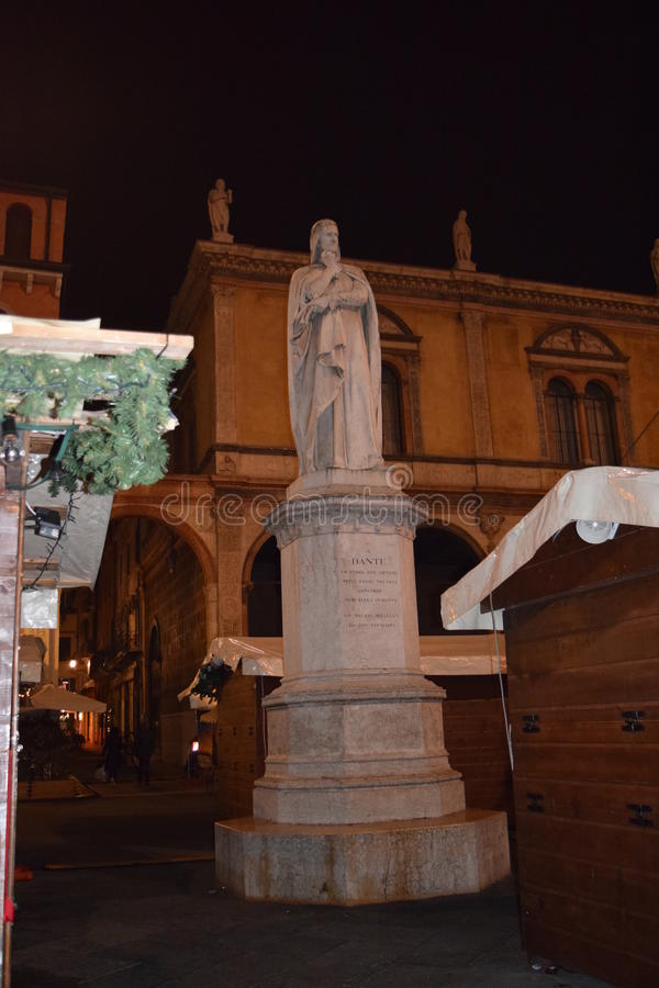 Piazza Dante royalty-vrije stock foto