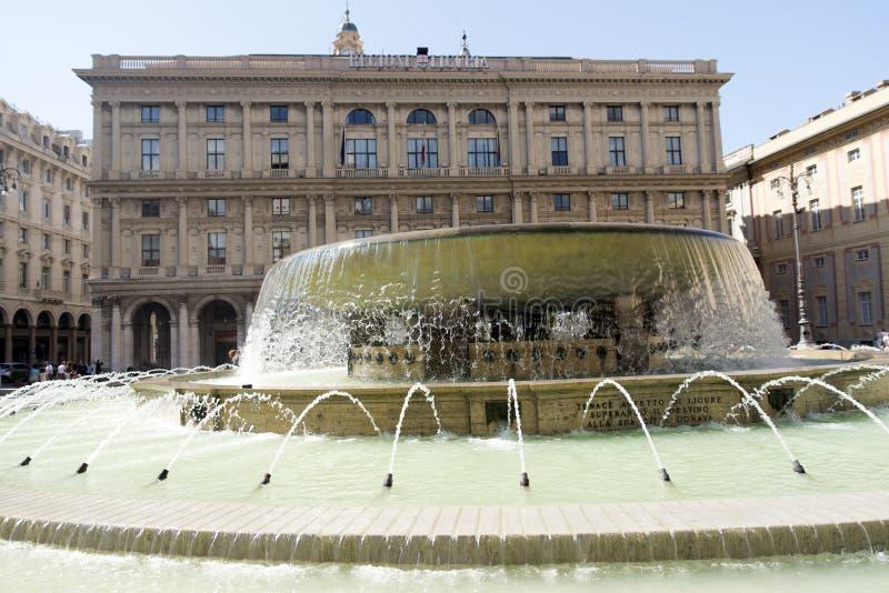 Download Piazza de Ferrari, Génova imagen de archivo editorial. Imagen de génova - 44855264