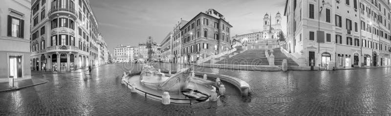 Piazza de spagnaSpanish kroki w Rome, Italy zdjęcie stock