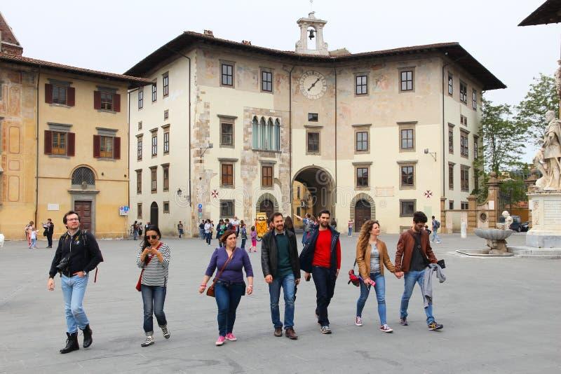 Piazza Dei Cavalieri royalty free stock photography