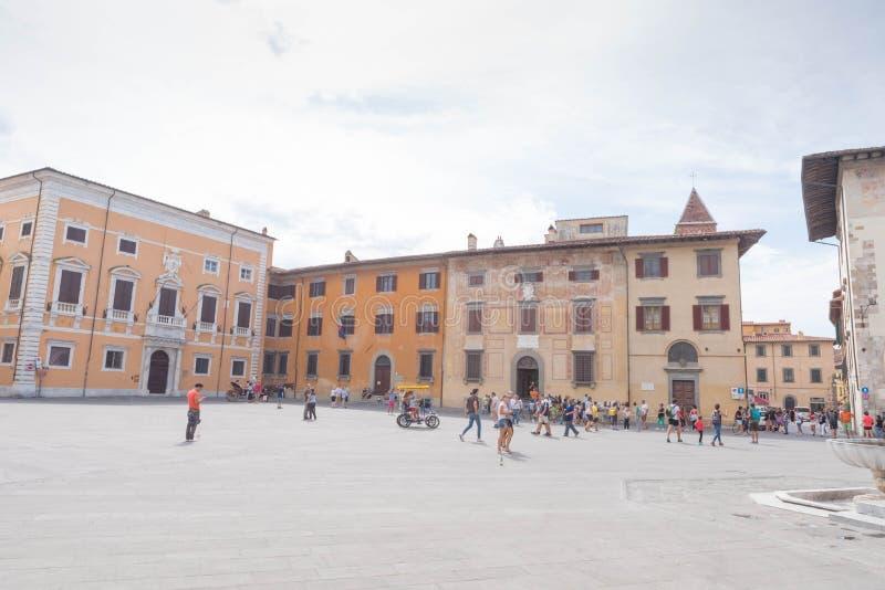 Piazza dei Cavalieri w Pisa zdjęcie royalty free