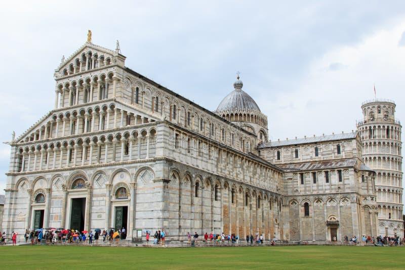 Piazza dei miracoli Pisa obraz royalty free