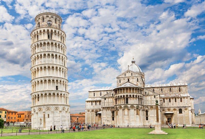 Piazza dei Miracoli w Pisa zdjęcie stock