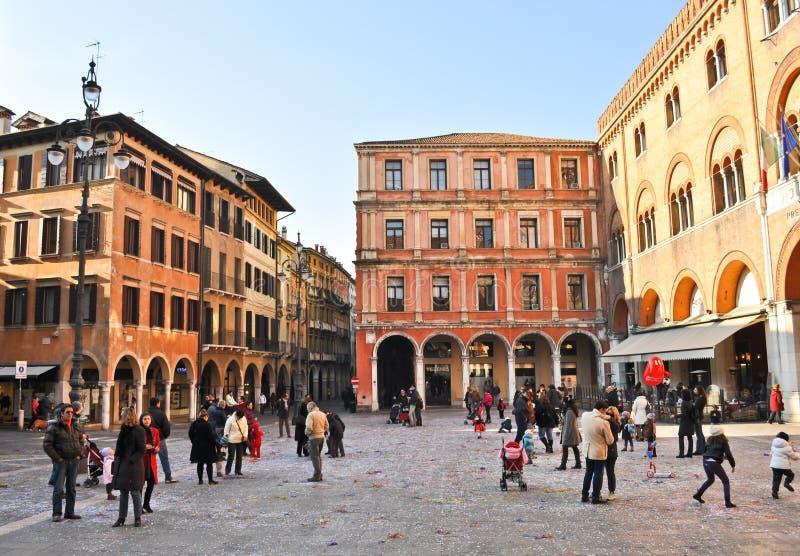 Piazza dei Signori royalty free stock photo