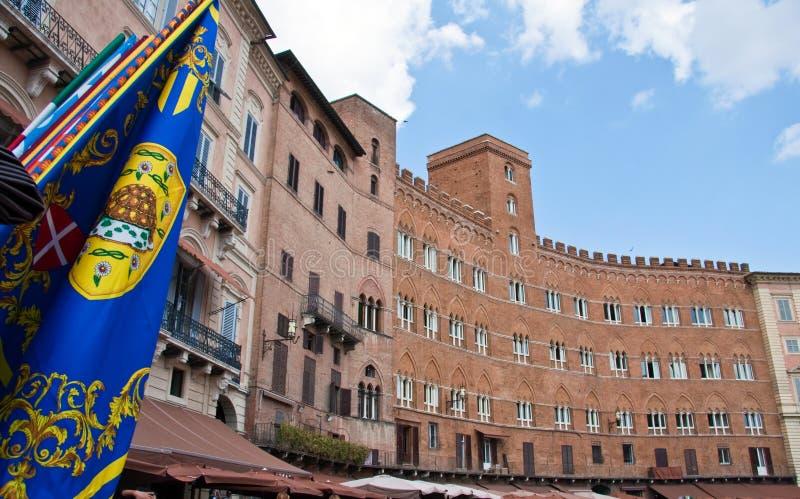 Piazza del Campo stock foto