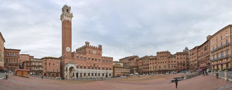 Piazza Del Campo lizenzfreies stockfoto