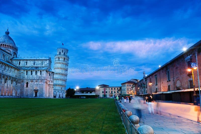 Piazza del Duomo, Pisa stock fotografie