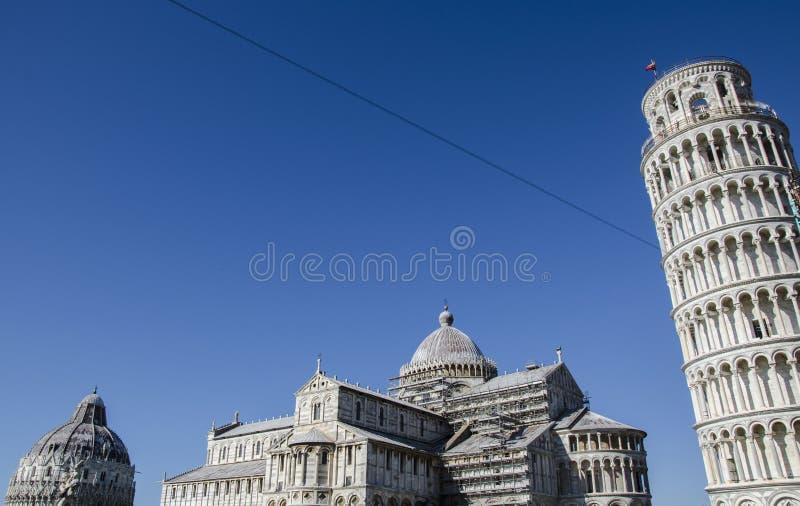 Piazza del Duomo, Pisa foto de archivo