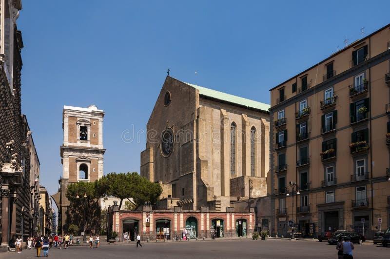 Piazza Del Gesù Nuovo stockfotos