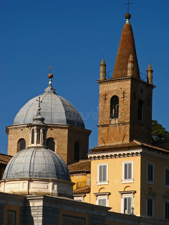 Download Piazza del Popolo 04 stock photo. Image of people, latin - 22596966