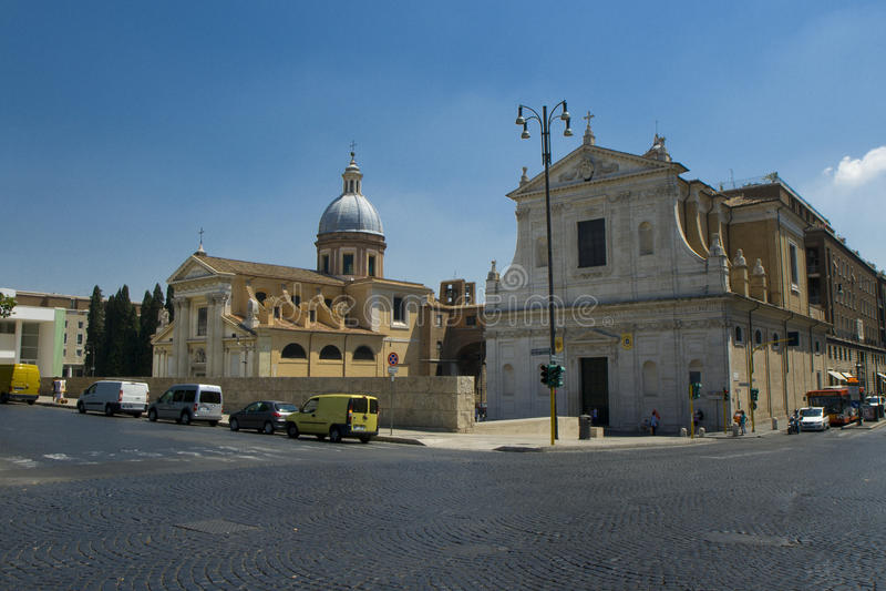 Download Piazza del Popolo stock image. Image of tree, urban, city - 12791375