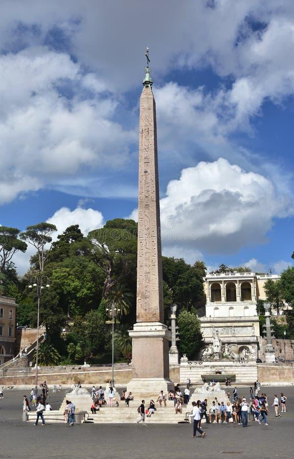 Download Piazza del popolo photographie éditorial. Image du rome - 76087662