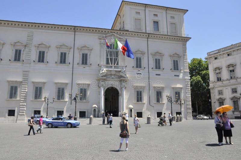 Piazza del Quirinale fotografía de archivo