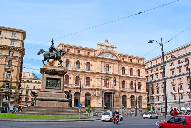 Piazza della Borsa royalty-vrije stock foto's