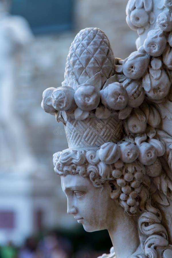 Piazza della Signoria obraz royalty free