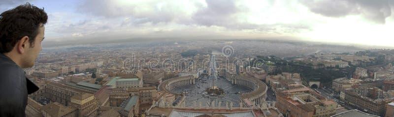Piazza di San Pedro imagen de archivo libre de regalías