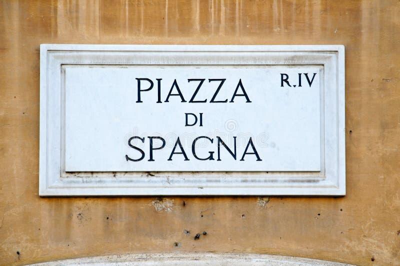 Piazza di Spagna stock image