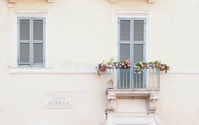 Piazza di Spagna 免版税库存图片