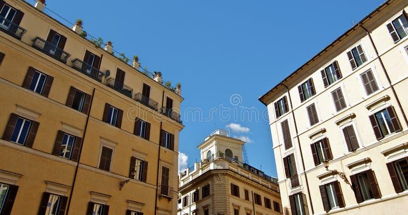 Piazza di Spagna i Rome, Italien royaltyfri foto